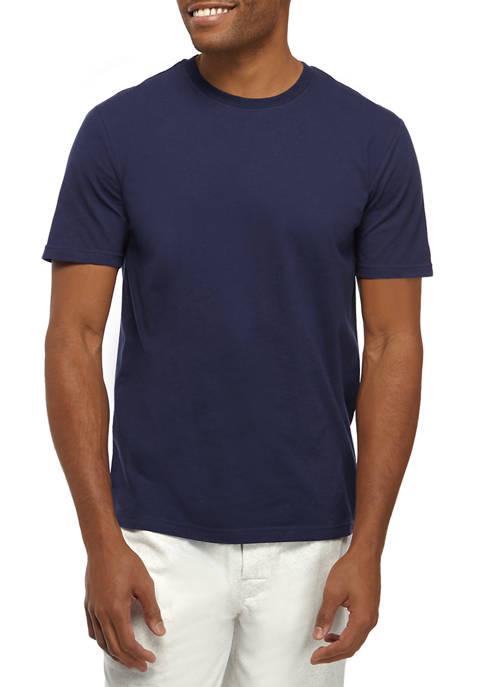 IZOD Mens Short Sleeve Crew Neck T-Shirt