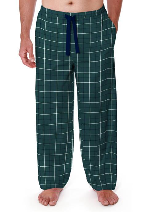 IZOD Big & Tall Silky Fleece Pajama Pants