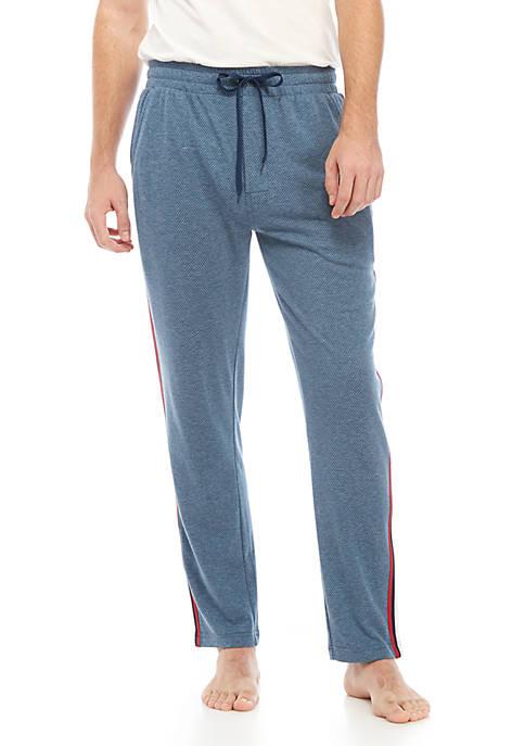 IZOD Mens Pin Tec Pajama Pants