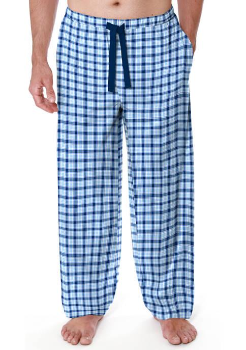 IZOD Big & Tall Microsand Pajama Pants