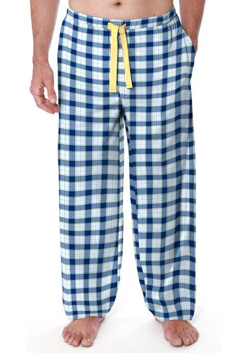 IZOD Big & Tall Microsand Pajama Pants