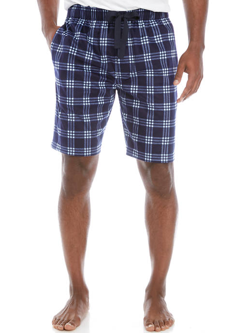 IZOD Mens Polyester Light Touch Pajama Shorts