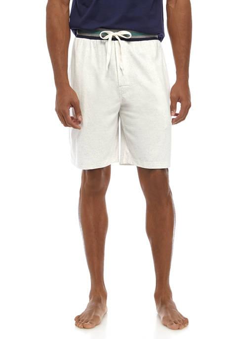 Mens Solid Knit Shorts