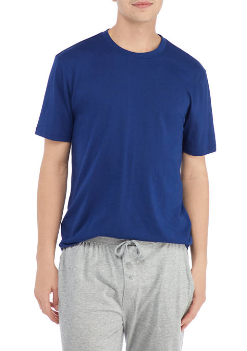 IZOD Short Sleeve Crew Neck Sleep Shirt