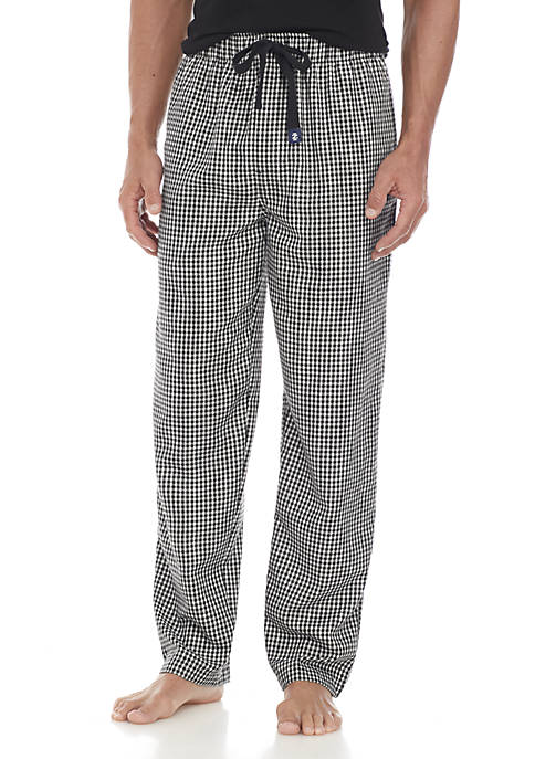 IZOD Checker Plaid Sleep Pant