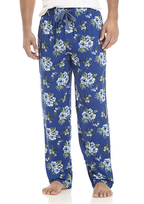 IZOD Printed Rayon Sleep Pants