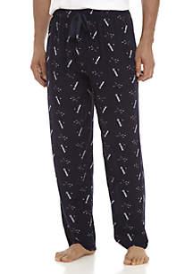 Golf Printed Sleep Pants
