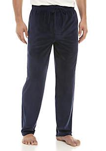 Navy Velour Sleep Pants