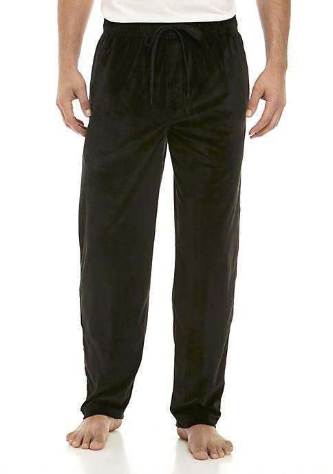 IZOD Big and Tall Velour Sleep Pants