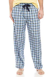 IZOD Short Sleeve Knit T Shirt · IZOD Blue and Yellow Plaid Lounge Pants 6c2eb5ca6