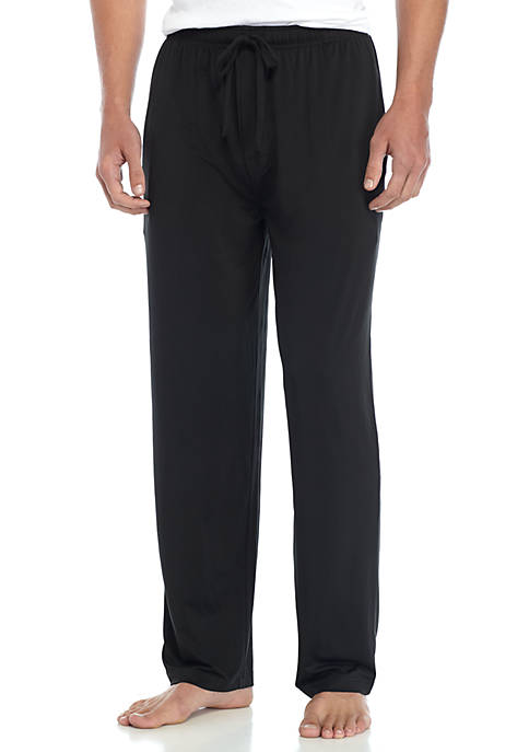IZOD Sueded Jersey Sleep Pants