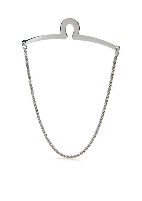 Saddlebred® Silver-Tone Tie Chain