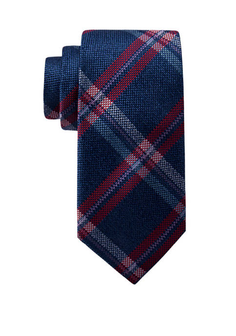 Saddlebred® Scout Plaid Necktie