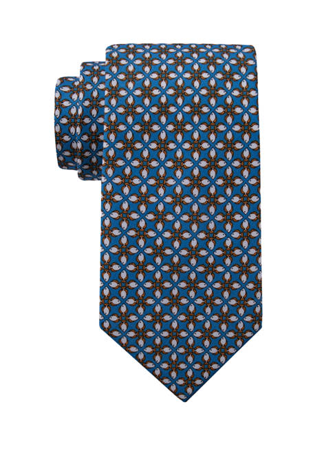 Saddlebred® Stan Fish Print Necktie