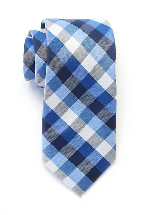 Crown & Ivy™ Todd Check Tie