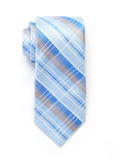 Crown & Ivy™ Tucker Plaid Tie