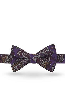 Pre-Tied Hisel Paisley Bow Tie
