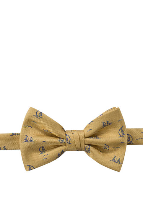 Sailboat Pre Tied Bow Tie