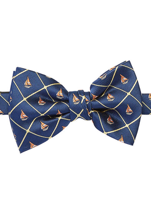 Crown & Ivy™ Roswell Boats Bow Tie