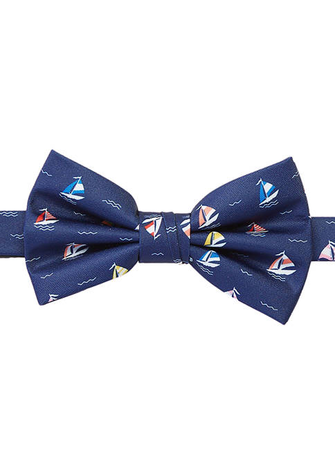 Crown & Ivy™ Sailboat Bow Tie