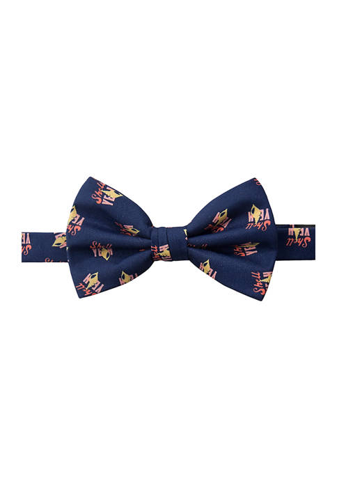 Crown & Ivy™ Shell Yeah Printed Bow Tie