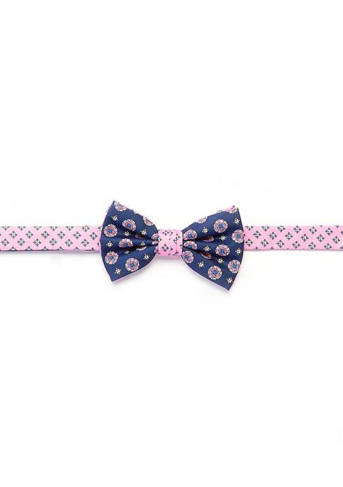 Crown & Ivy™ Augusta Medallion Print Bow Tie