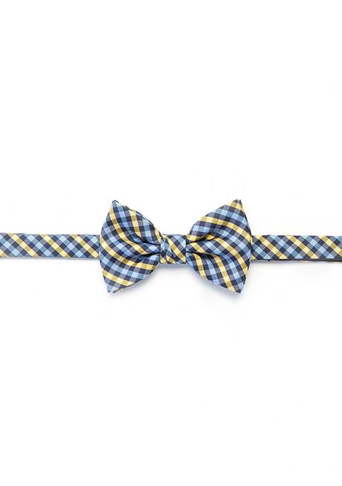 Crown & Ivy™ Hackney Gingham Bow Tie
