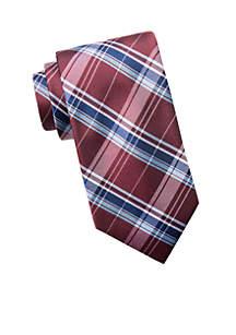 Big & Tall Extra Long Jasper Plaid Tie