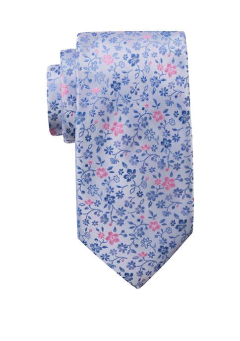 Saddlebred® Big & Tall Floral Printed Extra Long