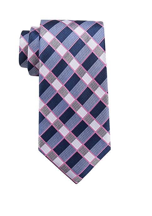 Cormac Plaid Tie
