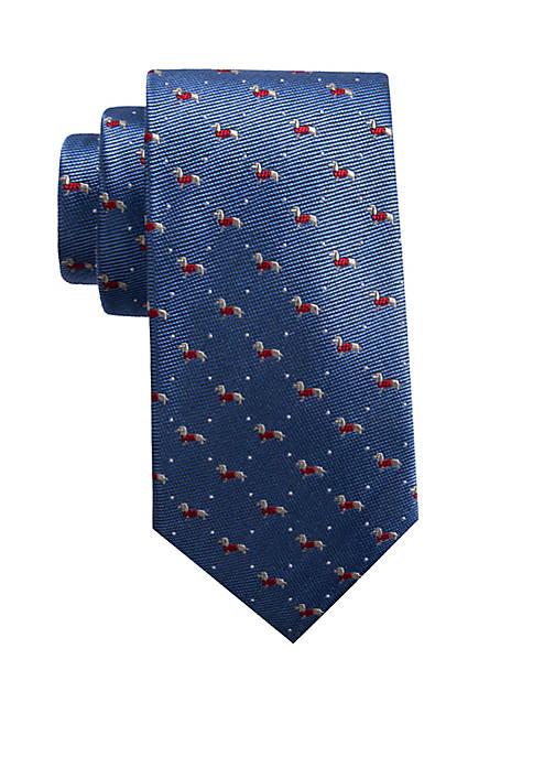 Saddlebred® Fancy Dachshund Necktie