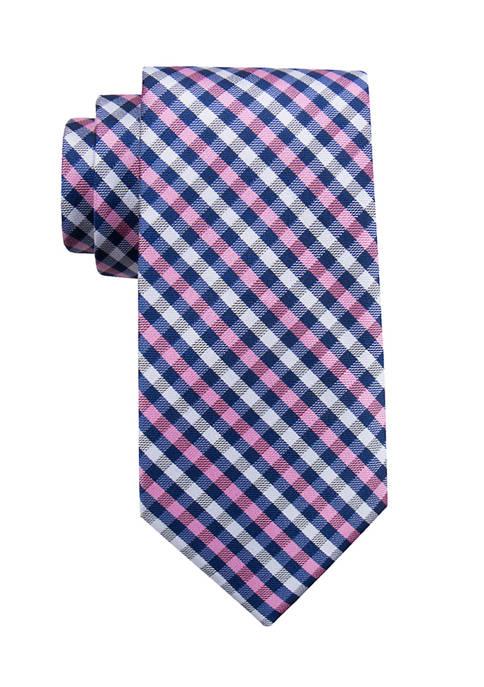 Hackney Gingham Necktie