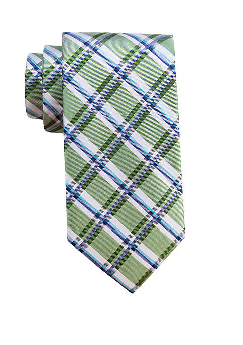 Saddlebred® Ballina Plaid Necktie