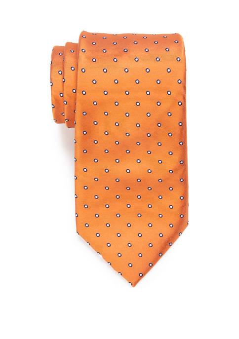 Extra Long Bago Circle Dot Tie