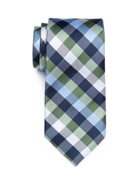 Almeria Check Tie