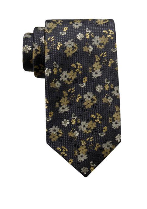 Saddlebred® Mens Finn Floral Necktie