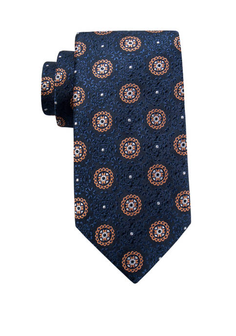 Crown & Ivy™ Everest Medallion Tie