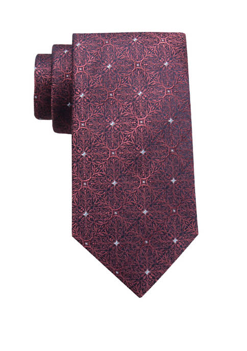 Crown & Ivy™ Flynn Medallion Tie