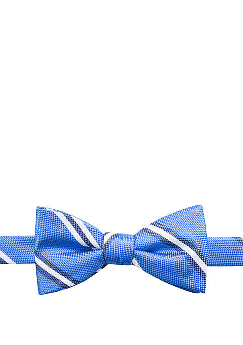 Saddlebred® Fletcher Stripe Bow Tie