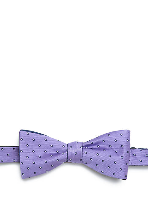 Bago Circle Dot Reversible Bow Tie
