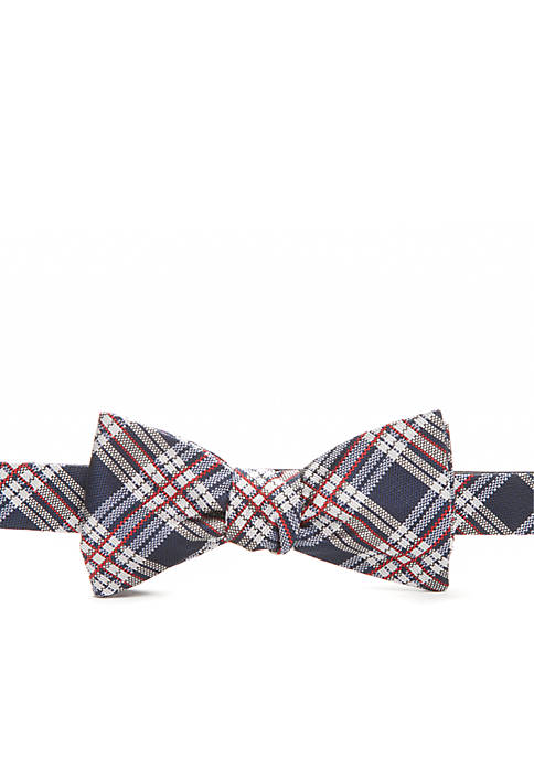 Saddlebred® Anthony Plaid Bow Tie