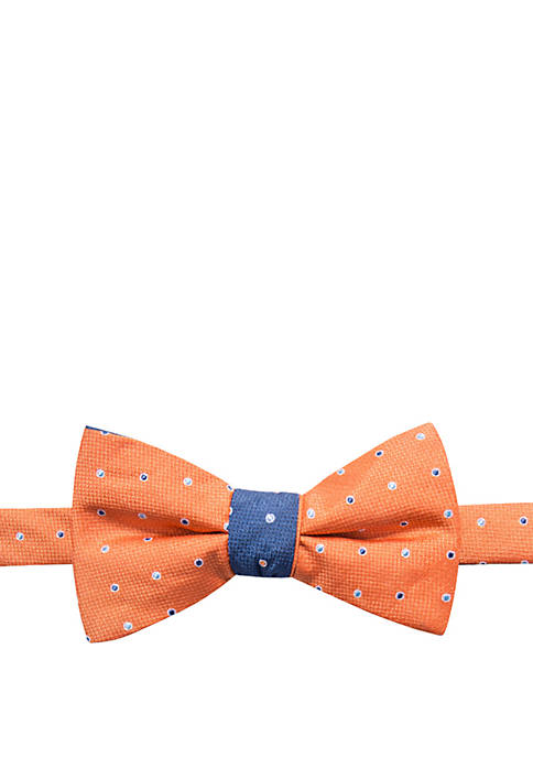 Saddlebred® Fairway Dot Contrasting Bow Tie