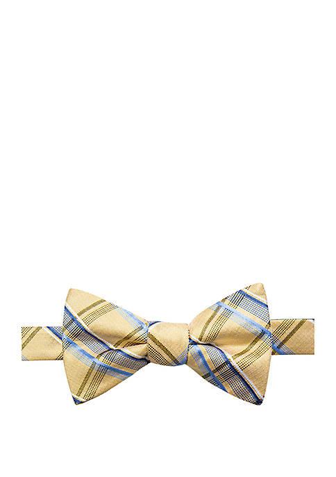 Saddlebred® Farmstead Plaid Print Bow Tie