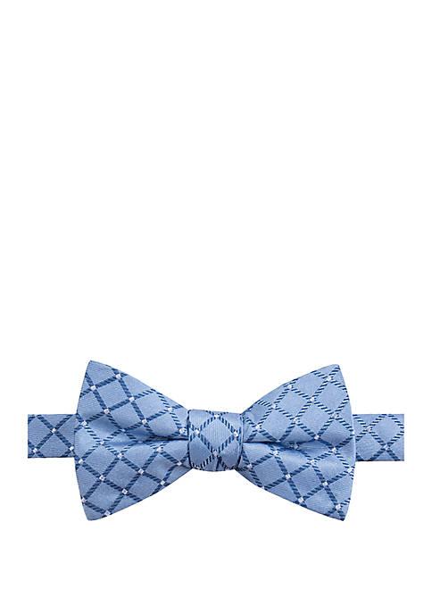 Saddlebred® Caelan Grid Bow Tie