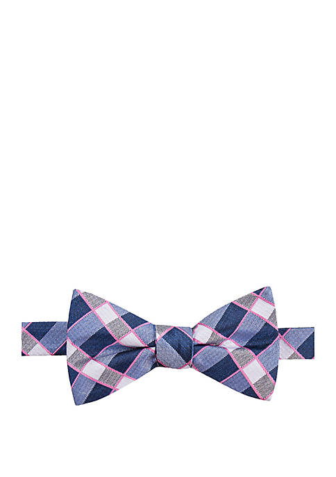 Saddlebred® Cormac Plaid Bow Tie