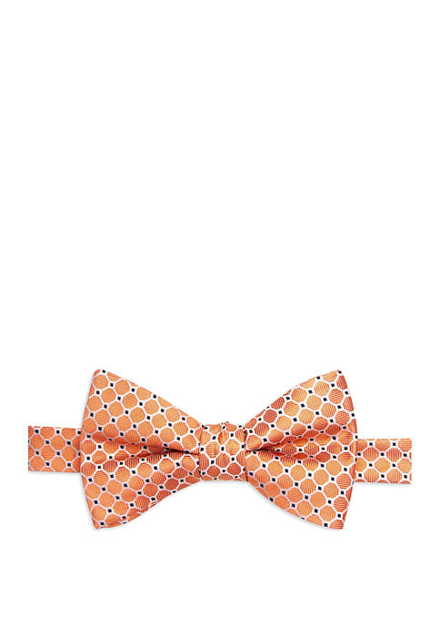Saddlebred® Alwar Neat Print Bow Tie