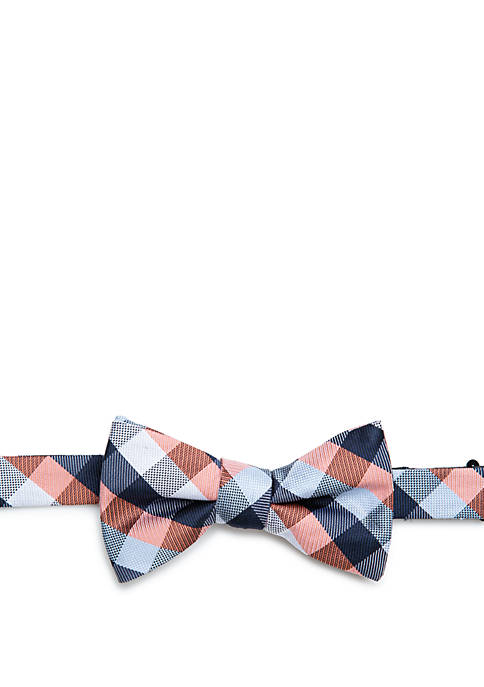 Saddlebred® Akmeria Check Bow Tie