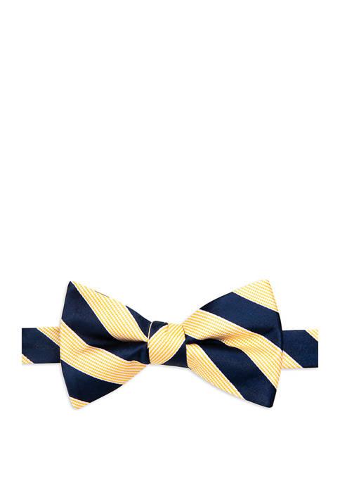 Almaty Stripe Bow Tie