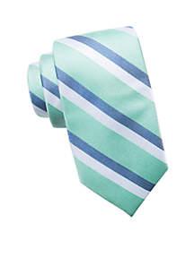 Saddlebred Extra Long Ashford Stripe Tie