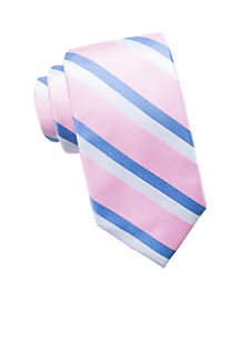 Saddlebred Extra Long Ashford Stripe Tie